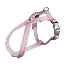 Postroj Softline DOG PRINCESS S-M 40-66 cm/20 mm - růžový