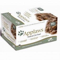Applaws miska Cat POT MultiPack Rybí výběr 8x60g